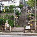 尾道探索 持光寺へと続く階段