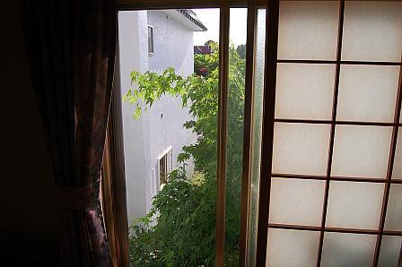 客室からの景色