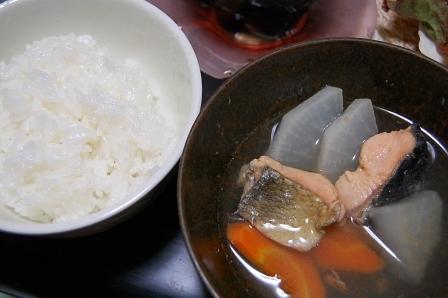 白米&三平汁