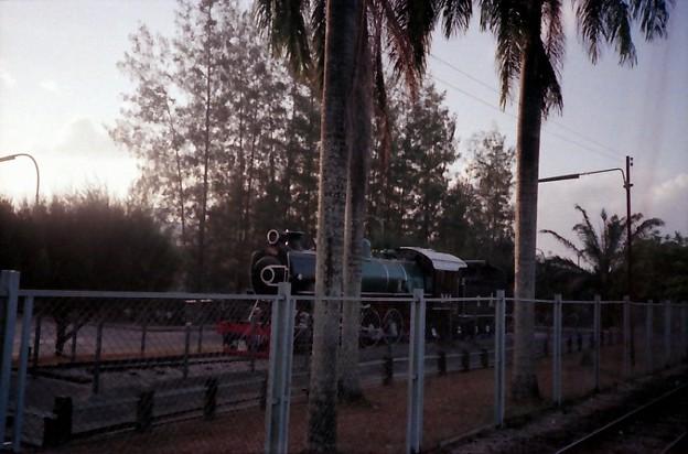 Thailand / タイ、保存されている蒸気機関車2