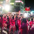 やっさ踊り2009、ロータリー広場はちょっと渋滞