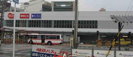 名鉄岐阜駅前再開発 ECT(イクト)2009年秋 開業予定で建設中ect-210522-2