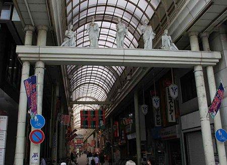 柳ケ瀬商店街(やながせ)頑張れ!!-210825-1.