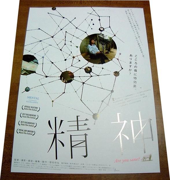 映画『精神』リーフレット(movie-tv-music/0019)