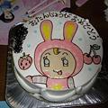 Photos: 09061001メゾピアノベリーちゃんの誕生日ケーキ