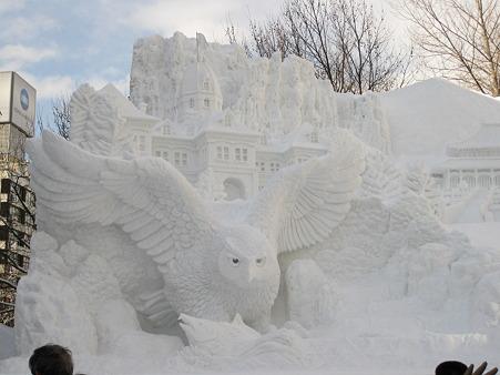 メイン大雪像