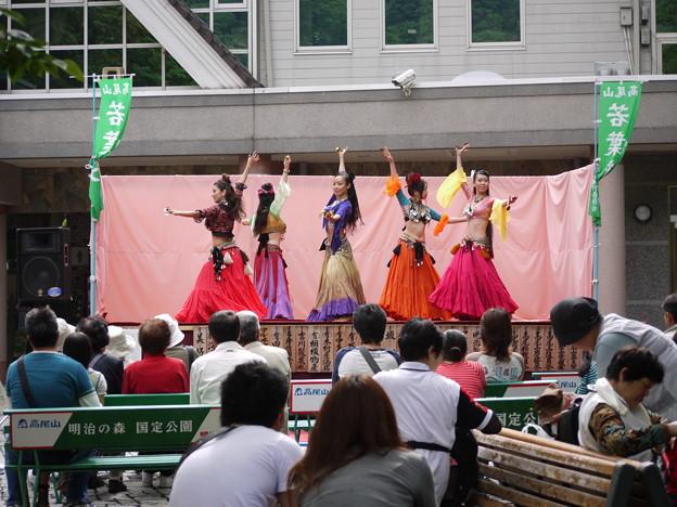 高尾山でのベリーダンス