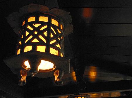 愛宕神社灯火