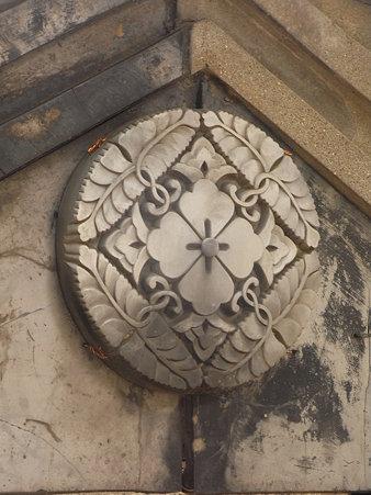 菊水通散歩◆報恩寺の瓦
