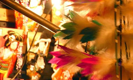 羽根と羽子板
