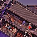 Photos: 朝の蔵造りの町並み通り・・HDR