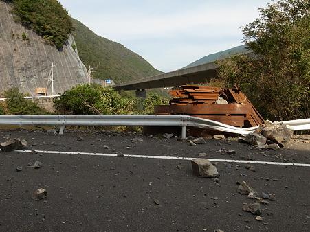 国道168号線・台風12号その後-22