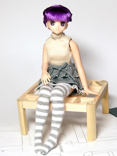 写真: 椅子じゃなくてコタツ