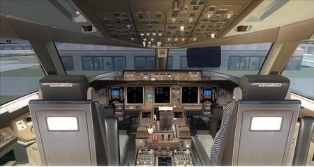 fsx 777-300 機内